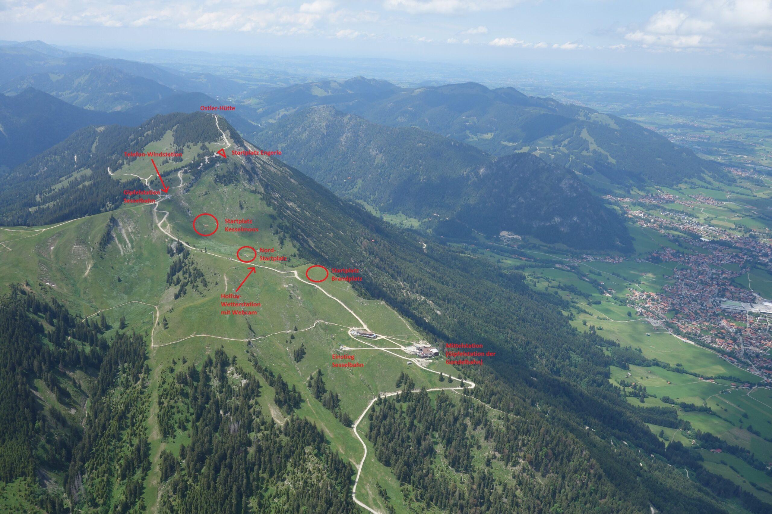 Startplatz Breitenberg