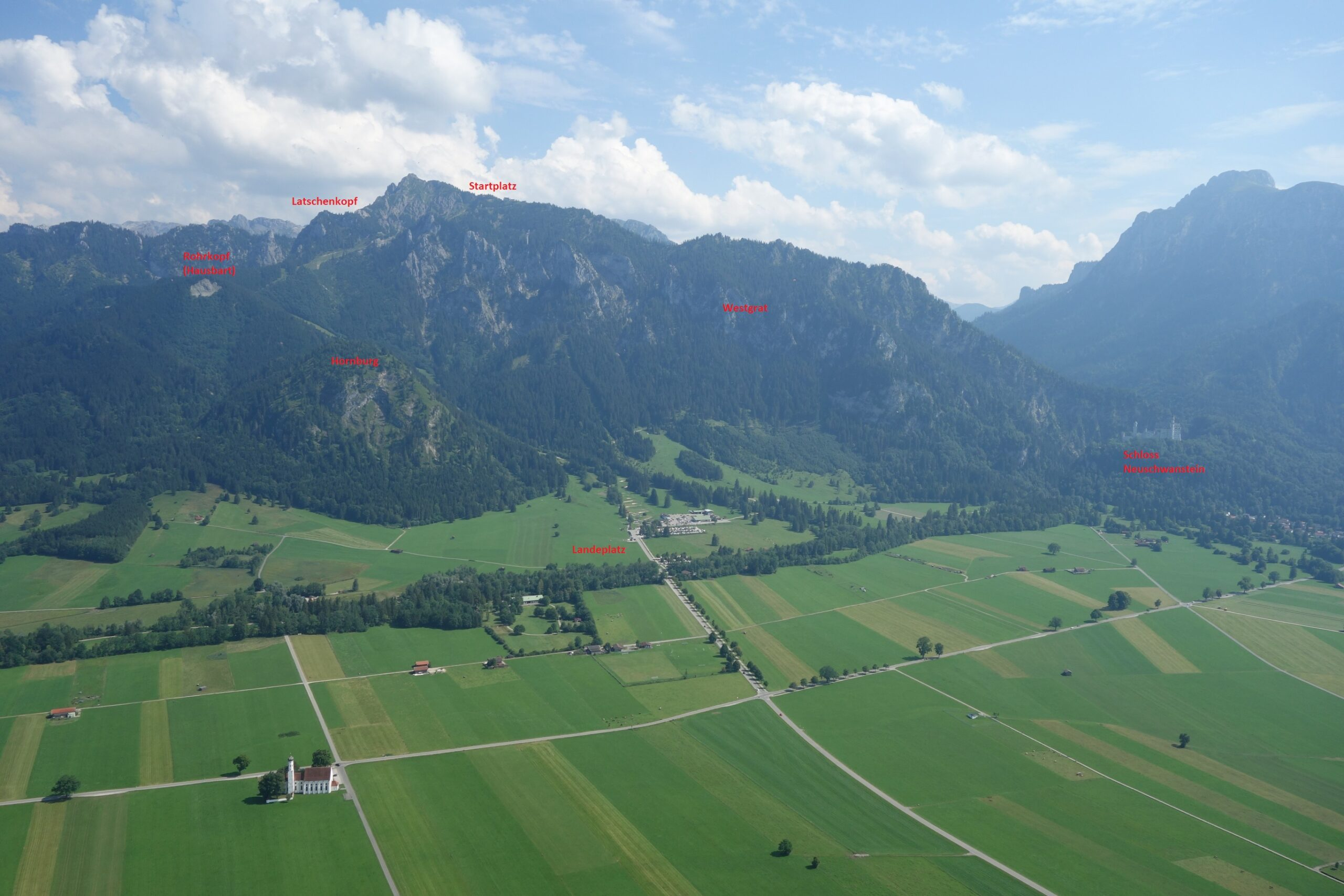 Fluggebiet Tegelberg